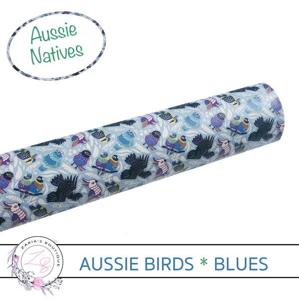 Mix • Match • Create © Aussie Birds • Smooth Vegan Faux Leather