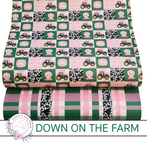 Custom Down On The Farm Vegan Faux Leather Designer Multi-Packs & Single Sheets