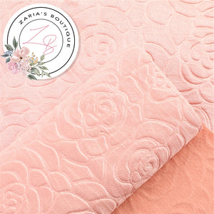 Embossed Pink Floral  ~ 0.90mm