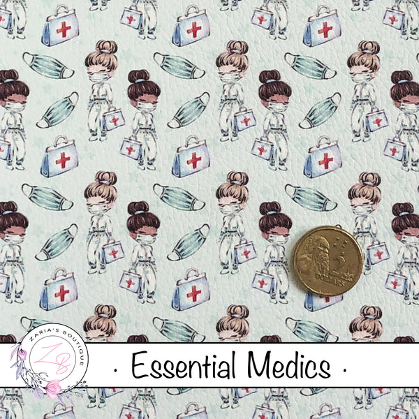 Custom Essential Medics Vegan Faux Leather