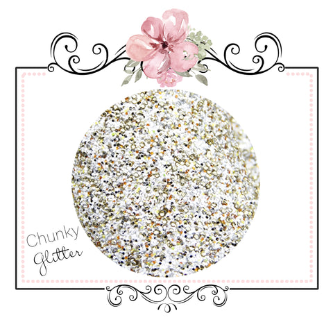 Fairytale Golden Slipper ~ Glitter Canvas Craft Fabric Sheets
