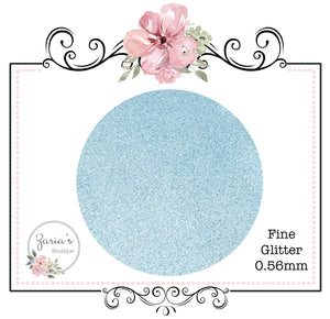 Fine Glitter ~ 0.56mm ~ Light Blue