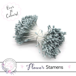 Flower Stamens ⋅ Dusty Blue ⋅