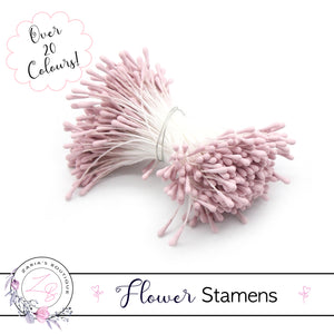 Flower Stamens ⋅ Dusty Rose Pink ⋅