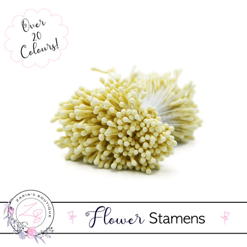 Flower Stamens ⋅ Lemon Yellow ⋅