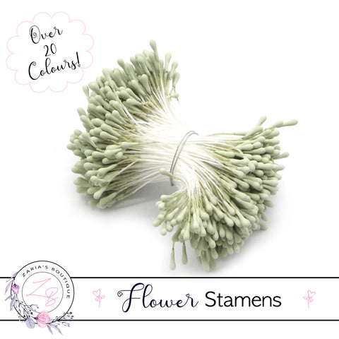 Flower Stamens ⋅ Light Green ⋅