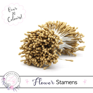 Flower Stamens ⋅ Light Mustard ⋅