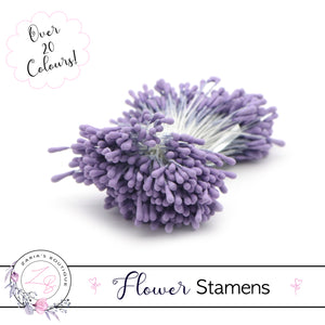 Flower Stamens ⋅ Light Purple ⋅