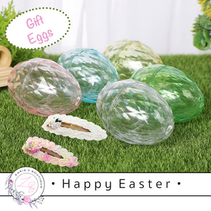 • Happy Easter • Crystal Acrylic Gift Eggs