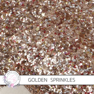 Rose Gold Sprinkles ~ Chunky Glitter ~ 1.14mm