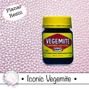 ⋅ Iconic Vegemite ⋅ Embellishment Planar Resins ⋅