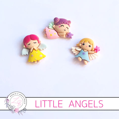 Angel Embellishments ~ 3 Designs