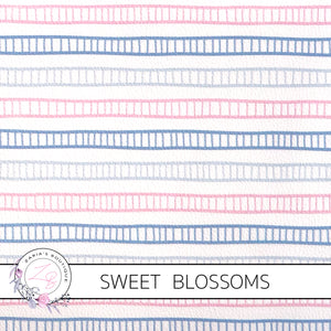 Sweet Blossoms ~ Exclusive Faux Leather  ~ 1mm