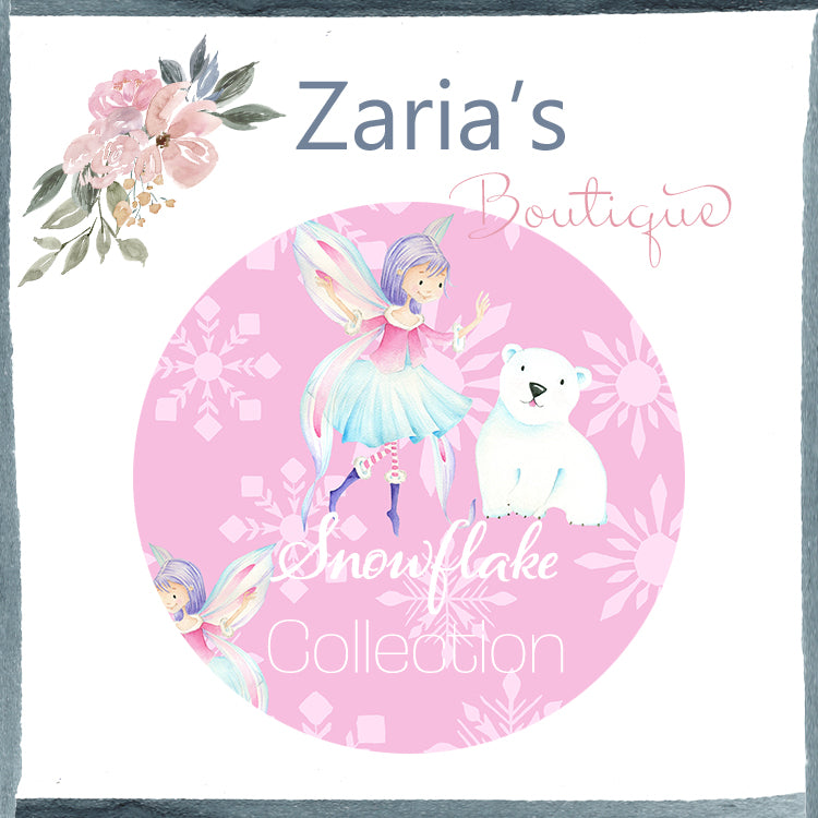 Snowflake Collection ~ Printed Canvas Sheets ~ Winter Fairies, Snowflakes & Polar Bears