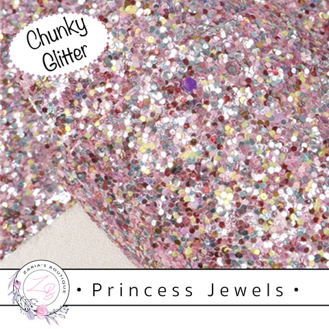 • Princess Jewels • Chunky Sparkle Glitter • 1.14mm