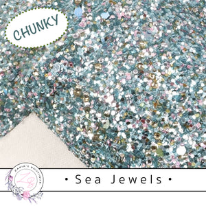 ⋅ Sea Jewels ⋅ Chunky Sparkle Glitter ⋅ 1.14mm