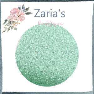 Spearmint Green Fine Texture ~ Glitter ~ 0.52mm