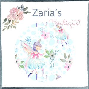 Snowflake Collection ~ Printed Canvas Sheets ~ Fairies Snowflakes & Flowers