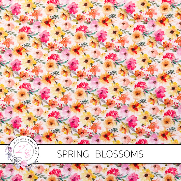 Spring Blossoms ~ Exclusive Faux Leather ~ 1mm