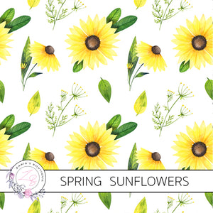 Exclusive Sunflower Floral ~ Custom Canvas