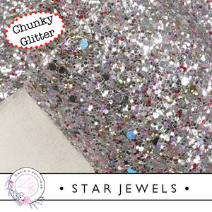 ⋅ Star Jewels ⋅ Chunky Sparkle Glitter ⋅ 1.14mm