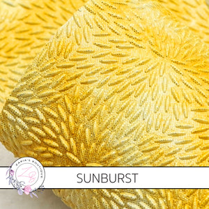 Sunburst ~ Bright Yellow Textured Faux Leather ~ 1.8mm