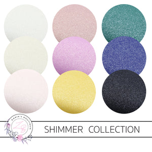 Shimmer Collection ~ Thick Shimmery Faux Leather ~ 0.86mm