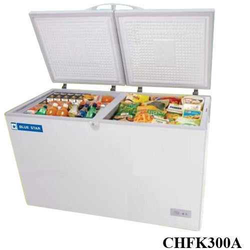 BLUE STAR 300 LTR COMBO DEEP FREEZER (ICE CREAM AND COLD DRINKS) CHFK300A