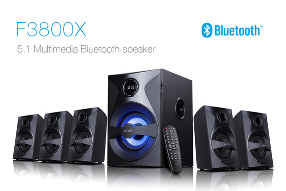 F & D 5.1 HOME THEATER SYSTEM F3800X