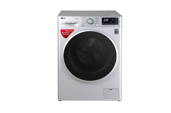 LG 8 KG  FRONT LOAD WASHING MACHINE FHT1408SWL