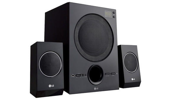 LG 2.1 HOME THEATER SOUND SYSTEM LH70B