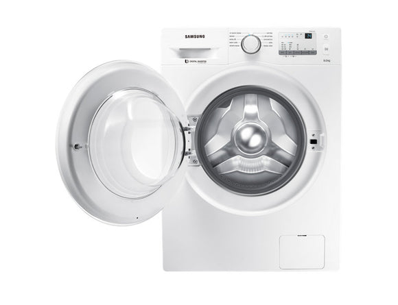 SAMSUNG 8.0 KG FRONT LOADING WASHING MACHINE WW80J3237KW