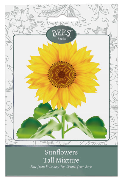 Sunflower, Sunflower Seeds, Sunflowers, Sunflower Sungold, Helianthus, Helianthus Sungold, Cottage garden seeds, Cottage garden plants, Bees Seeds