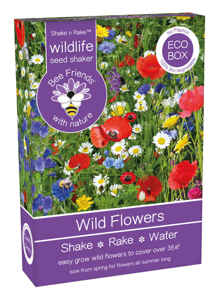 Wildflower Seed Mix Shaker Box