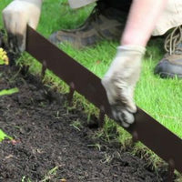 Everedge, Everedge Garden Edging, Lawn Edging, Garden Edging, Everedge Classic Garden Edging, Metal Lawn Edging,