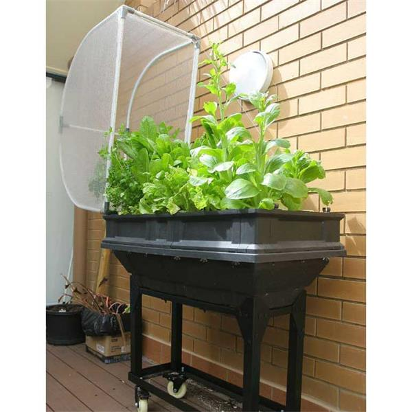 Small Vegepod, Vegepod, Raised Bed, Grow your Own Food, Edible plants, GIY, GYO, Raised Bed on Wheels, Raised Bed Trolley, Vegepod on wheels, Vegepod on Trolley