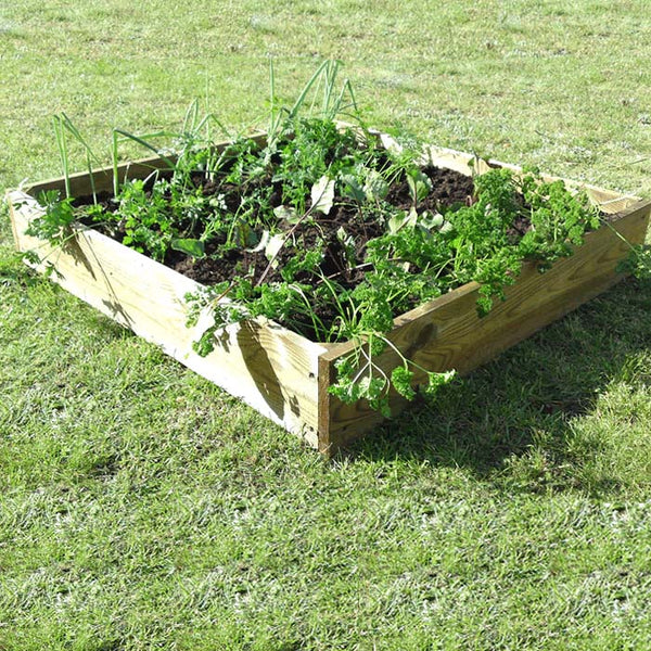 Square Raised Bed, Raised Beds, Vegetable Beds, Allotment, Allotment growing, Timber raised beds, Kitchen garden, Edible plants