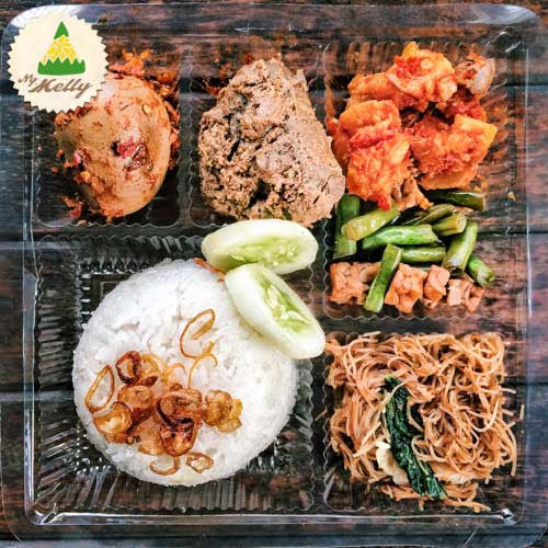 Nasi Box Ny. Melly Paket F
