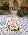 Azilal Berber Rug ' The lights'
