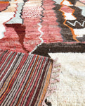 Vintage Berber Rug ' The Colors '