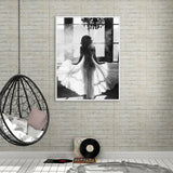 Ballet Nordic Black White Posters Wall Art Unframed