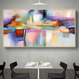 Abstract Painting Wall Picture For Living Room Home Decor No Frame