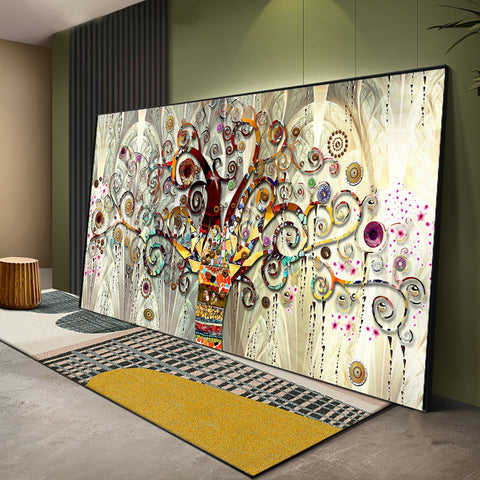 Tree of life Gustav Klimt Landscape Wall Art