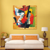oil painting  Picasso Abstract nstrument  coloring by numbers