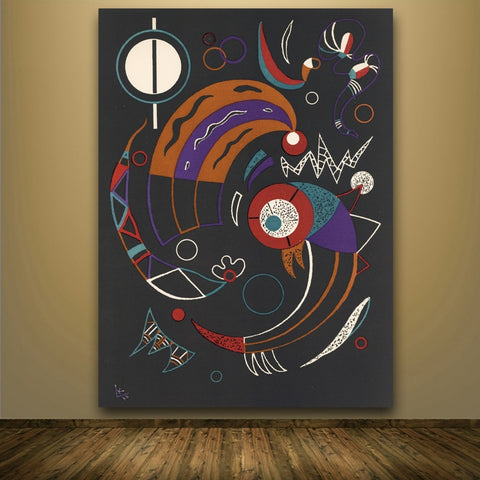 Wassily Kandinsky Comets original lithograph print Wall