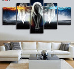 Angel Decoracion 5 piece Wall Pictures