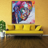 ' Salvador Dali Graffiti Pop ' Painting Face Portrait