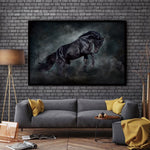 Decorative Horses New HD Printed Canvas