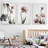 Tulip Flower Canvas Posters