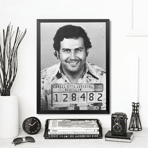 Large size Printing Oil Painting Pablo Escobar